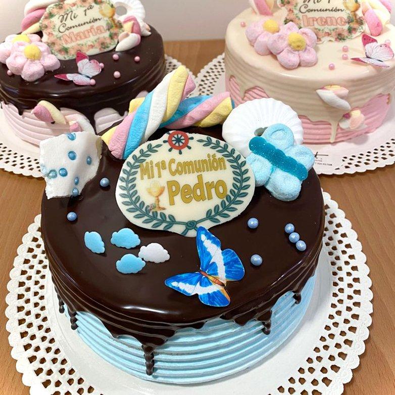 Mini tartas para mesas dulces